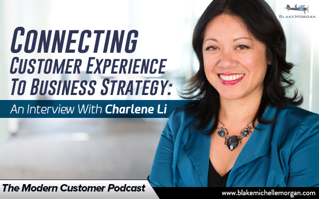 The Modern Customer Podcast Blake Michelle Morgan