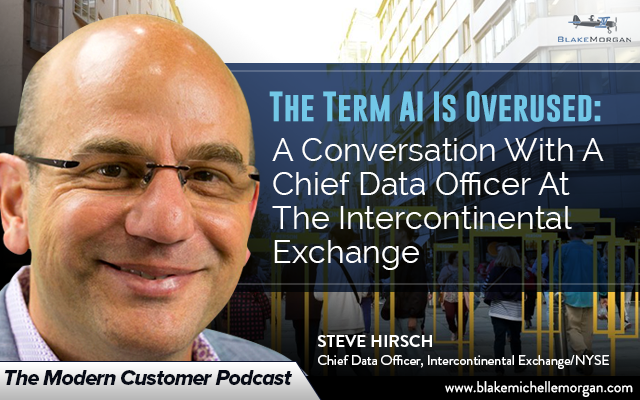 The Term AI Is Overused: A Conversation With A Chief Data Officer At The Intercontinental Exchange