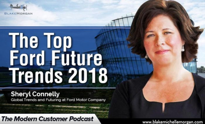 The Top Ford Future Trends 2018