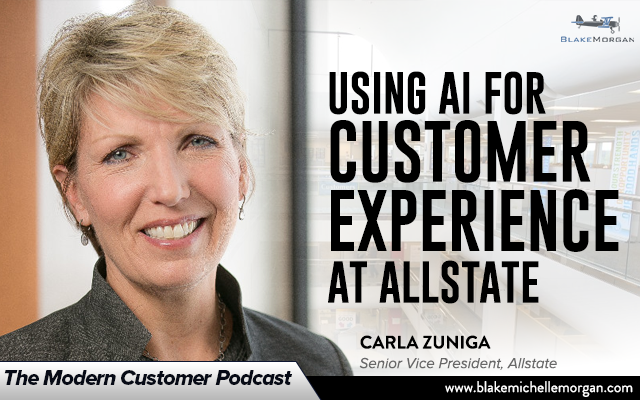 Using AI For Customer Experience At Allstate