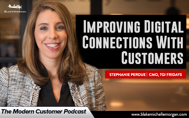 Improving Digital Connections With Customers, With TGI Fridays CMO