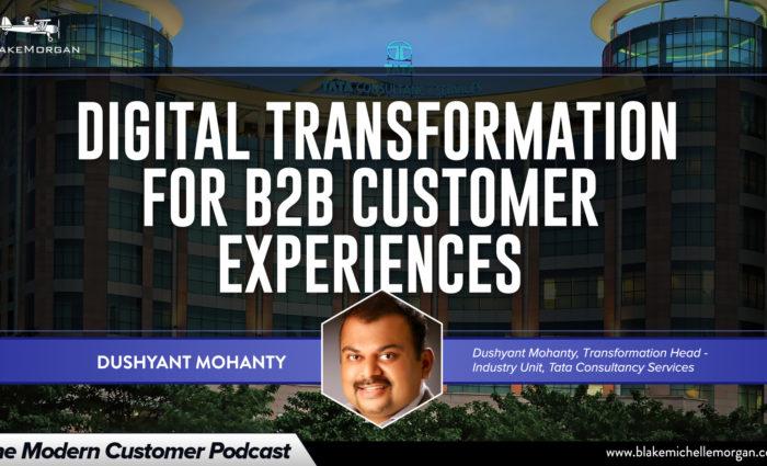 Digital Transformation For B2B Customer Experiences