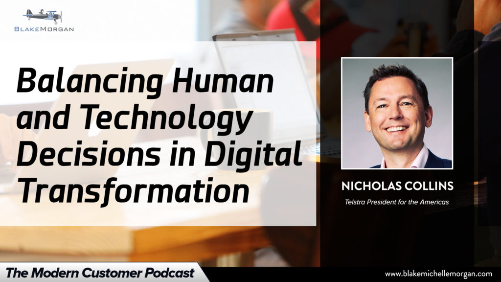 Balancing Human And Technology Decisions In Digital Transformation