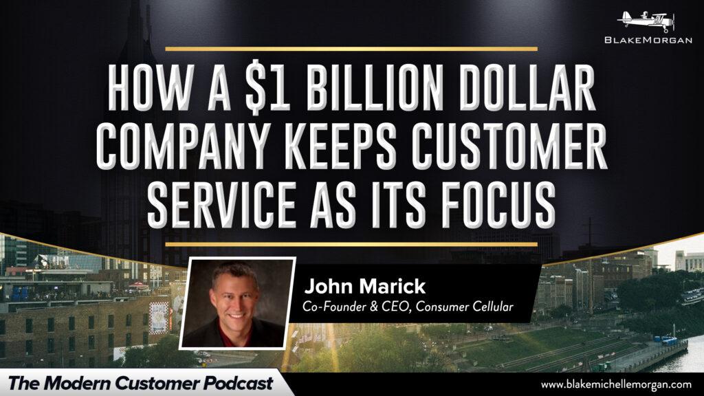 How A $1 Billion Dollar Company Keeps Customer Service As Its Focus