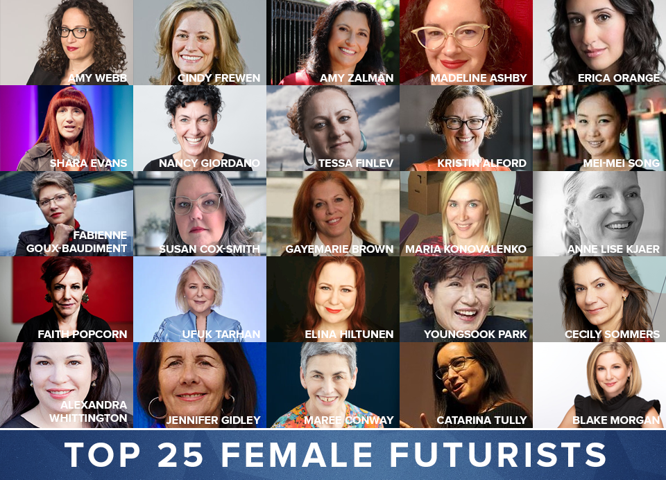 The World's Top Female Futurists